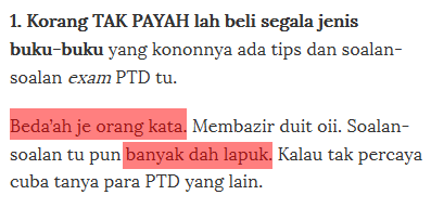 tips calon ptd m41